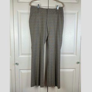 Free People Plaid Pants NEW